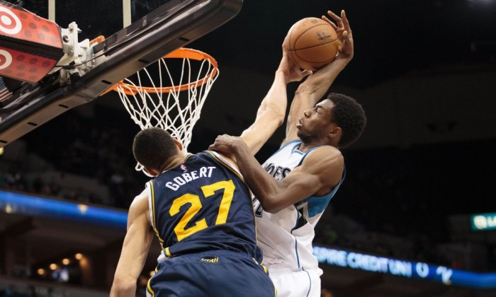 USP NBA: UTAH JAZZ AT MINNESOTA TIMBERWOLVES S BKN USA MN
